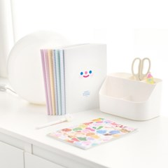 Happy monthly planner 8type