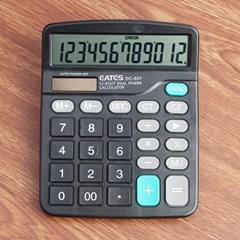 12자리 전자계산기/태양열 계산기 사무용계산기