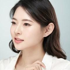 14K 허니플라워 골드핀 귀걸이(핑크골드)