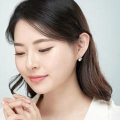 14K 블링썸 골드핀 귀걸이(핑크골드)