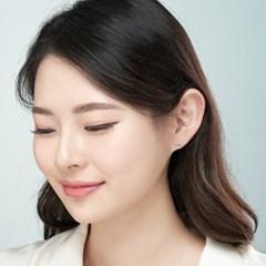 14K 레시 골드핀 귀걸이(핑크골드)