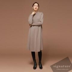 Side knit dress