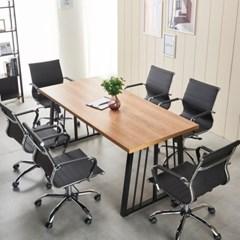 테이블 회의용테이블 철제테이블 가온 6인용테이블_(2470813)