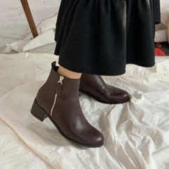 kami et muse Middle heel short ankle boots_KM19w280
