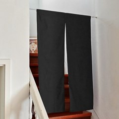 블랭크 블랙 광목원단 도어커튼_L (RM 269001)
