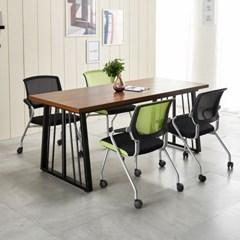 가온 테이블 테이블세트 회의용테이블세트 철제테이블_(2470895)