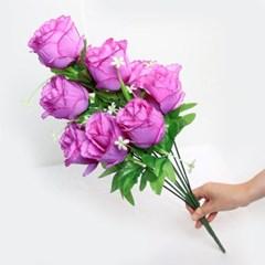 3+2행사 대국화 부쉬 고급조화 산소꽃 성묘꽃 납골당꽃