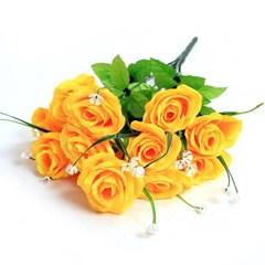 3+2행사 장미 부쉬 고급조화 산소꽃 성묘꽃 납골당꽃