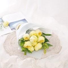 [카탈리나 장미] 몽글몽글 귀여운 레몬빛 장미