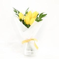 [옐로우 튤립] 한 해를 시작하는 꽃다발