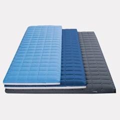 로미홈 기절 마약매트리스 접이식 토퍼 침대 매트 바닥 3단 수면매트