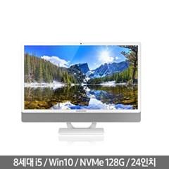 삼성일체형PC DM530ABE-L54A 윈도우10 탑재된 i5 24인치