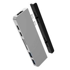 하이퍼드라이브 맥북프로 7in2 듀얼 USB C타입 멀티허브