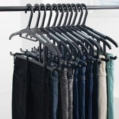 국내생산 논슬립 바지걸이 10P/튼튼한/옷걸이겸용/ABS재질