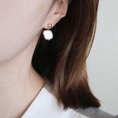 사각 담수진주 귀걸이