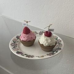 컵케이크 캔들 2color 4scent