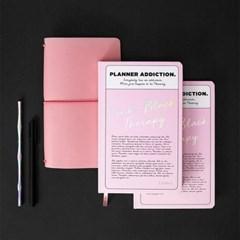 [1+1] 2020 양장 다이어리 - 핑크 블랙 테라피 (Pink Black Therapy)