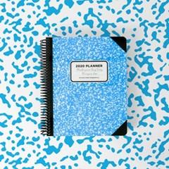 [1+1] 2020 체인저블 다이어리-컴포지션 블루 (Composition Blue)