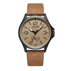 [쥴리어스 옴므] JAH-110 남성시계 손목시계 가죽밴드