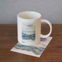 제주 협재 바다 머그컵( 2type)