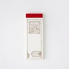 [OURS] Slide Glass letterpress label book