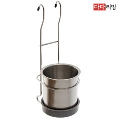 다다리빙 걸이형 스텐 수저통_(2238160)