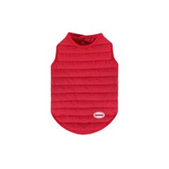 [퀄팅 패딩 베스트]Quilting padding vest_Red
