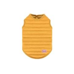 [퀄팅 패딩 베스트]Quilting padding vest_Mustard