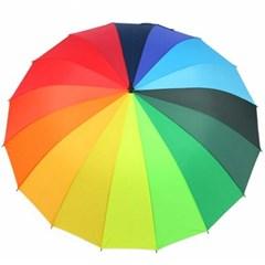 비바람에 강한 일곱빛깔 레인보우 장우산 CH1527517