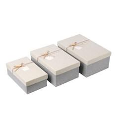고급 선물상자 3종세트 선물 종이상자