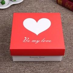 레드하트 선물상자/발렌타인데이 선물케이스 종이박스
