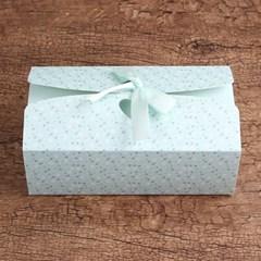꽃무늬 오픈아치형 리본 선물상자/선물포장 종이상자