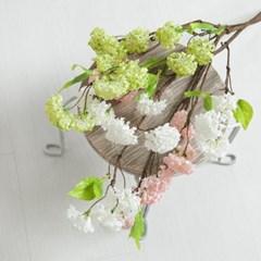 목수국가지o 63cm 조화 꽃 인테리어 장식 소품 FAIAFT_(1689883)
