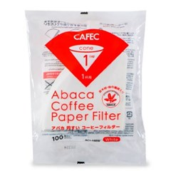 카펙 아바카 종이 커피 필터 1-2인용 100매 화이트_(1280502)