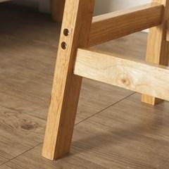 60cm 원목 사각 선반 겸 의자/인테리어 스툴 보조의자