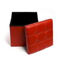 치프 스퀘어 수납의자/접이식 의자 스툴 공간박스