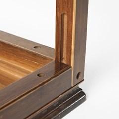 엔틱 브라운 미니 장식선반/대나무 인테리어 원목선반