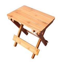 우드 접이식 휴대용 의자 / 스툴 보조의자 간이의자