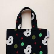book-black mini bag