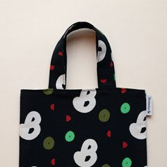 book-black mini bag