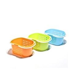 웨이브 항균 목욕바구니/목욕탕판매용 찜질방납품용