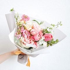 로맨틱 발렌타인데이 에디션 (꽃다발+초콜릿 2종)