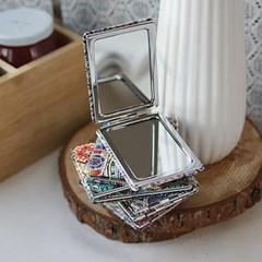 에스닉 사각 거울 (랜덤디자인)
