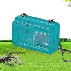 아이리스 곤충채집통/곤충용품/사육통 KQ-210 그린 블루