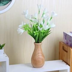 통원목 유리병 꽃병/인테리어꽃병 꽃화병 유리화병