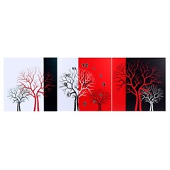 겨울나무 병풍 벽시계(대형)/인테리어 벽걸이시계