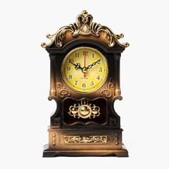 엔틱 아치 디자인 탁상시계/인테리어 아날로그 시계