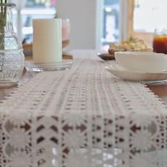 까르다 레이스짜임 테이블러너 식탁보 모음