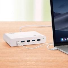 가우넷 오호 MCL101 퀵차지3.0 초고속 110W USB 5포트 C_(1240428)