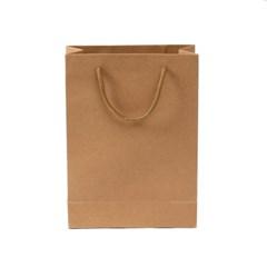 무지 세로형 쇼핑백(브라운)(19x26cm)/종이쇼핑백